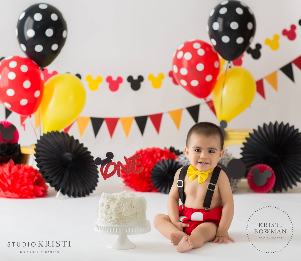 Mickey Mouse Smash Cake: Scottsdale - Phoenix Boudoir Photography